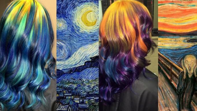 art hair