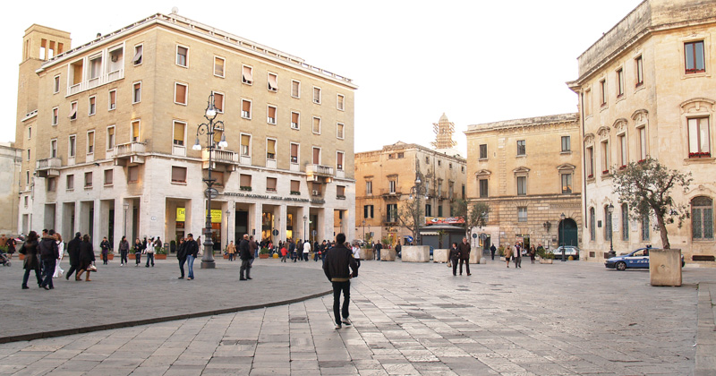 piazza santoronzo lecce storia damore - photo#29