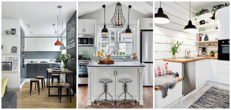 Idee per una cucina bella funzionale e trendy blog di for Arredare cucina piccola e stretta