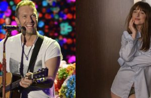 Dakota Johnson e Chris Martin insieme