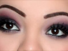 Make up occhi neri