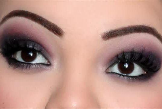 Make up occhi neri